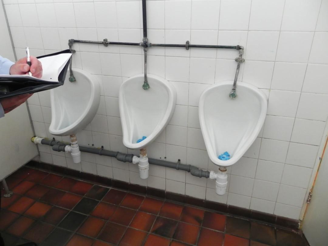 Gents Toilets Refurbishment
