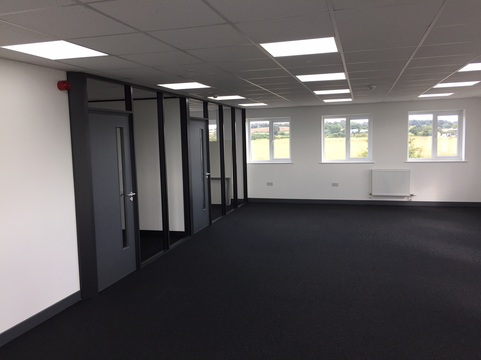Sektor Glazed Partitioning System