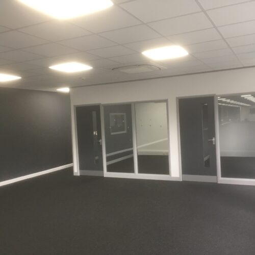 Office Partitioning installed